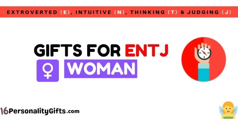 Gifts for ENTJ woman